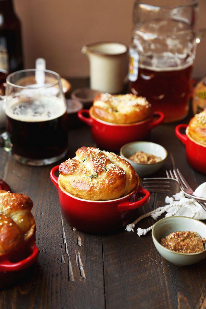 ... pretzel rolls the soup pots bratwurst cold day pretzels beer brats