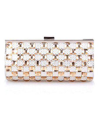 Generic Stylish Women's Clutch Handbag Party Sparkly Evening Bag