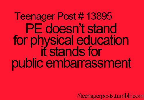 Except I'm pretty good at pe so idk why I'm repinning it but still I get it