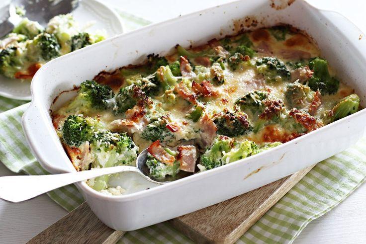 Csőben sült brokkoli