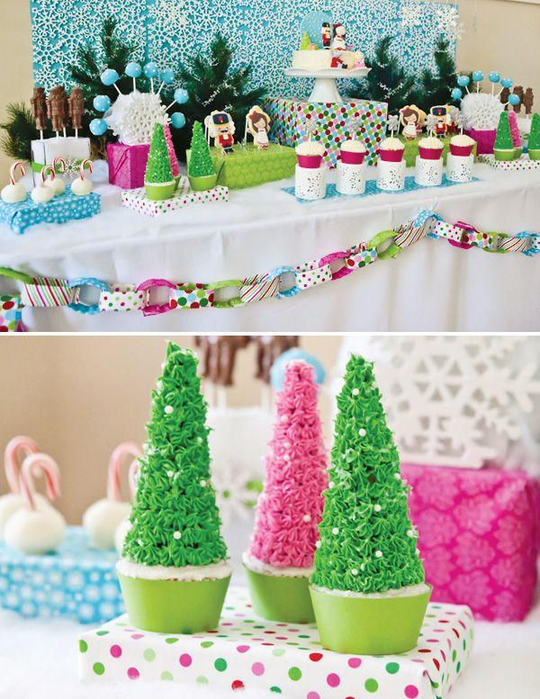 Nutcracker Themed Birthday Party {Playful & Modern}