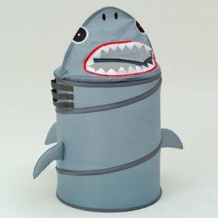 shark toddler bedding | Shark Laundry Hamper - Kids Decor at Kids Furniture Mart #WildWalls @Jimmy Eaton Milton