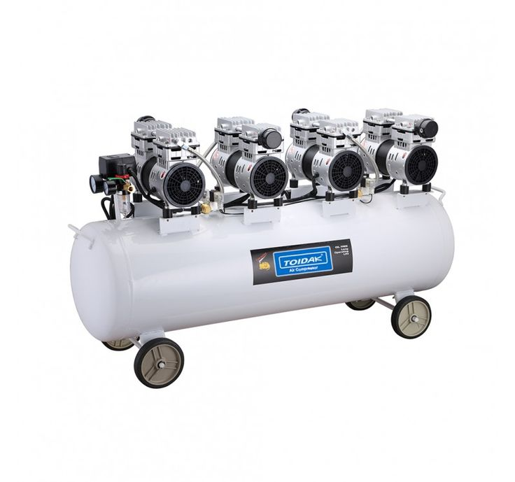 features low noise air compressor low vibration low maintenance oilless compress great for dental tatoo and etc