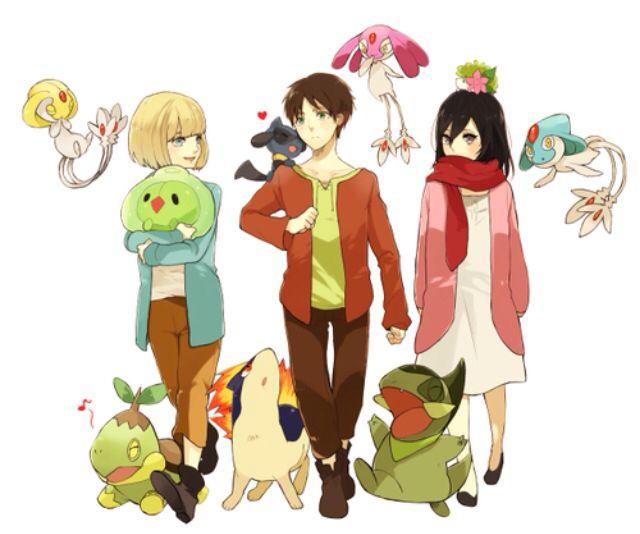 Attack On Titan Pokemon Doublade Pinterest • The worl...