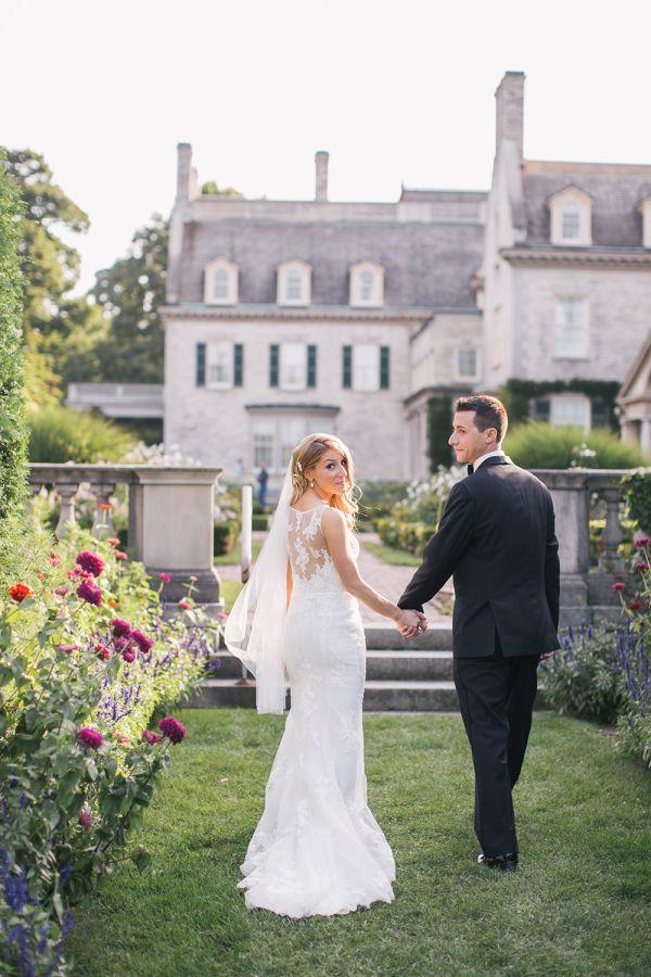 Jane Austen Meets Gatsby Style In This Glamorous Wedding
