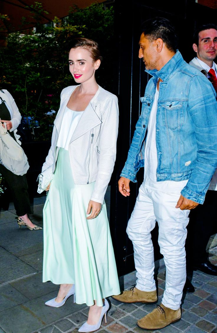""" Lily Collins arrives at the Chiltern Firehouse in London July 12 """