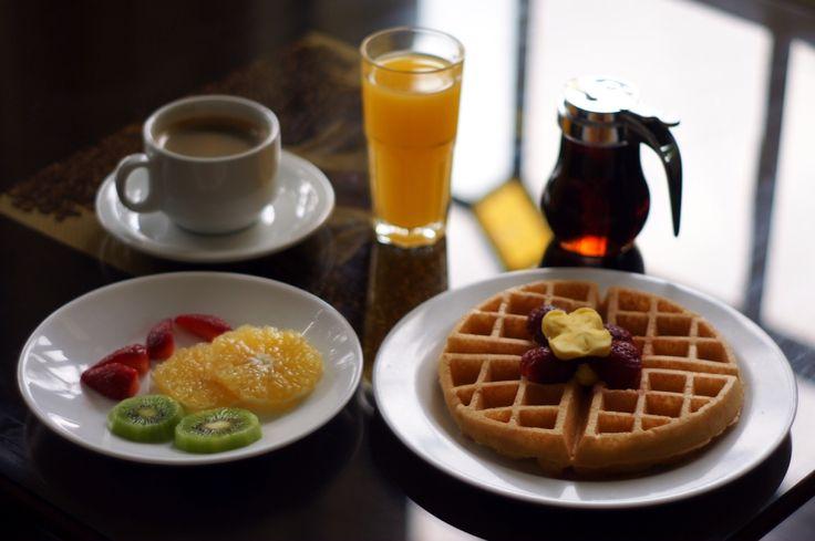 Variedad de desayunos