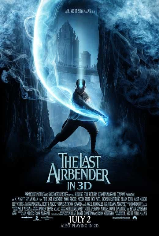 The Last Airbender 27x40 Movie Poster 2010 The Last Airbender