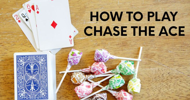 easy card games chase the ace from 30daysblog  family