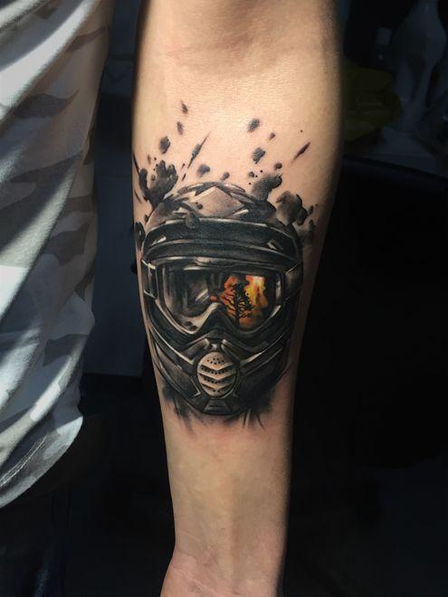 X Men Logo Tattoo