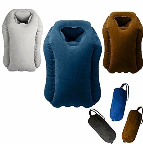 #10: Air Pillow Luxury Travel Pillow Quick Easy Inflatable Comfortable Airplane Cushion This is a top quality pick in the best selling products online in Luggage  category in UK. Click below to see its Availability and Price in YOUR country.