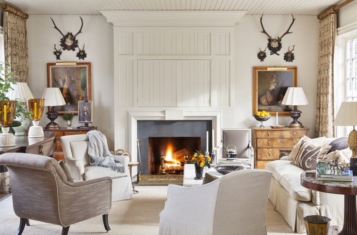 385 best living rooms images on pinterest living spaces for Southern living keeping room ideas