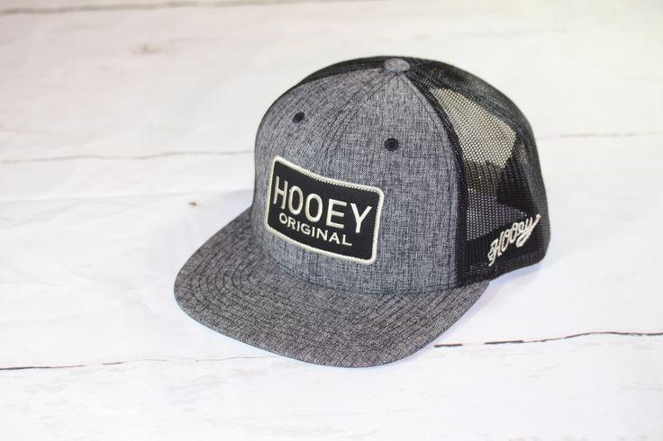"""HOOey Patch Hat """"Hooey Original"""" OSFA (snapback) 1753T-GYBK"""