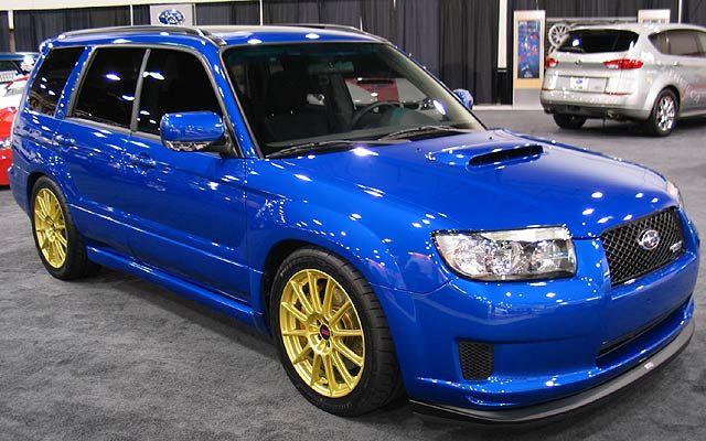 Subaru Forester STi. Please come to America!