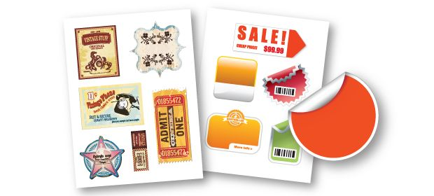 Sticker printing can inexpensively make your promotion stand out in cut throat market competition