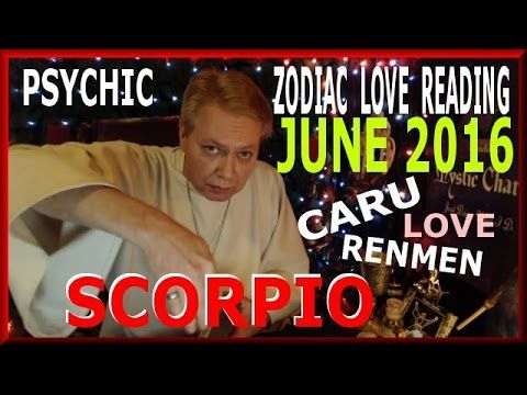 Your psychic card reading for Love Scorpio June 2016. Scorpio here is your general zodiac Love reading for groups of people around the world June 2016.