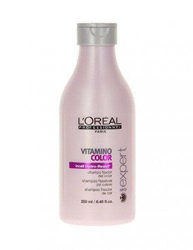 L'oréal Professionnel – Vitamino Color Shampooing Fixateur De Couleur: Shampooing soin couleur Cheveux colorés Un shampooing qui élimine…