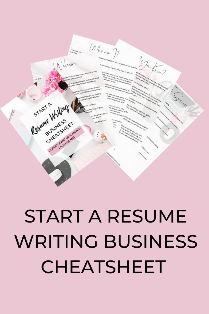 Resume Writing Cheatsheet For Socials Resume Writing