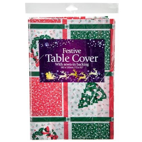Festive Table Cover | Poundland
