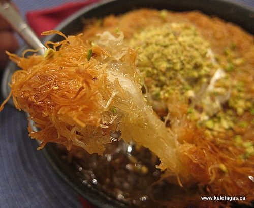 Kunefe...The best thing I've ever eaten! Do I dare try to make it myself? Yeah, I better...