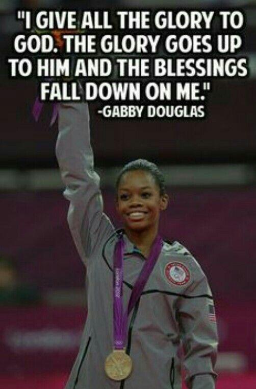 Gabby Douglas - #PeopleIAdmire.