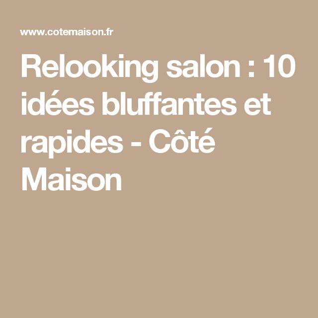 Relooking salon : 10 idées bluffantes et rapides - Côté Maison