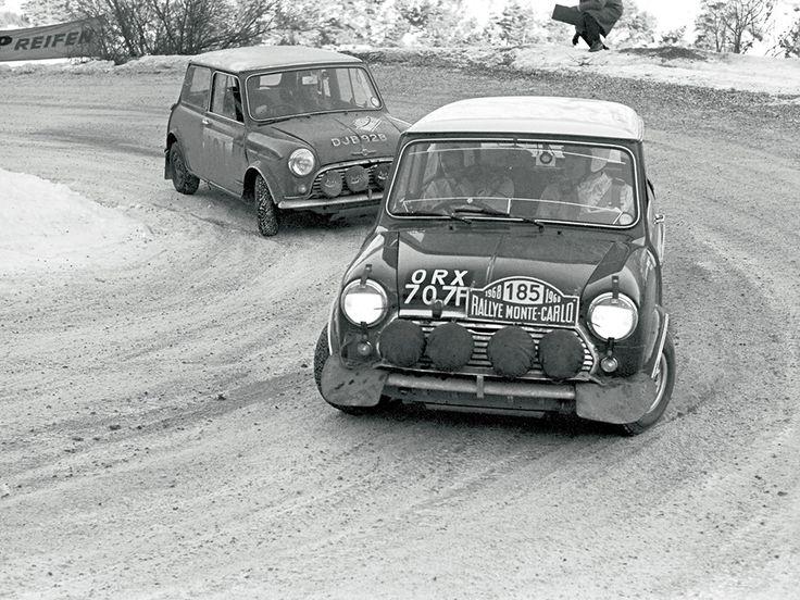 MINI - Monte Carlo Rally - 1968
