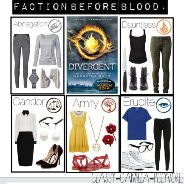 Divergent Faction Outfits