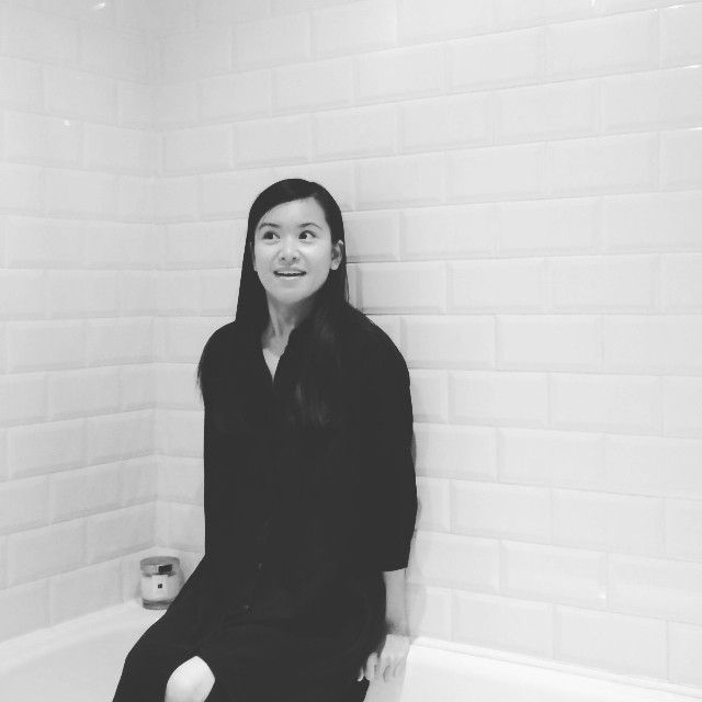 Katie Leung does the ice bucket challenge