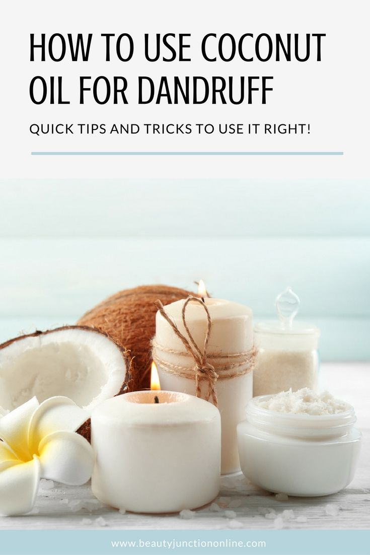 Need some expert advice on using coconut oil for dandruff? We've got you covered!