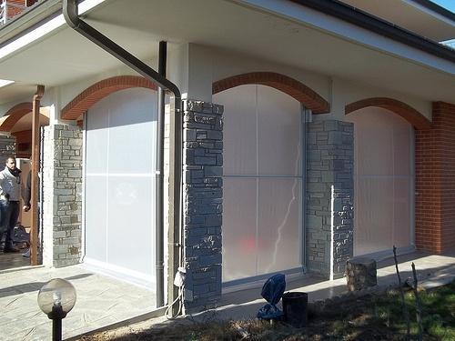 Tenda veranda invernale motorizzata Torino M.F. Tende e tendaggi (4)