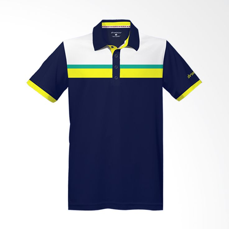 Svingolf Prestige Polo Night Blue Baju Golf