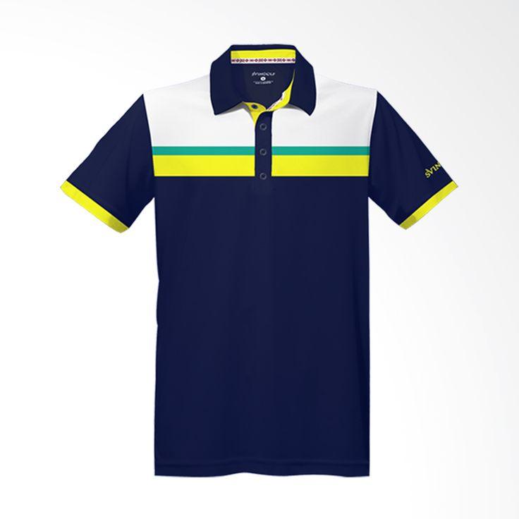 Svingolf Prestige Polo Night Blue Baju Golf