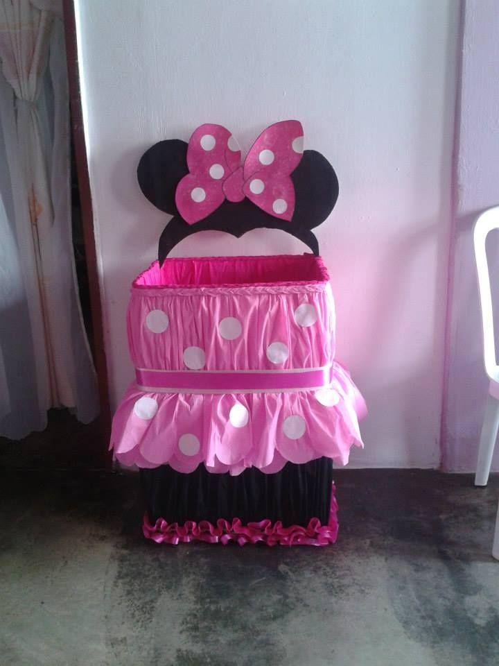 caja de regalos de minni mouses