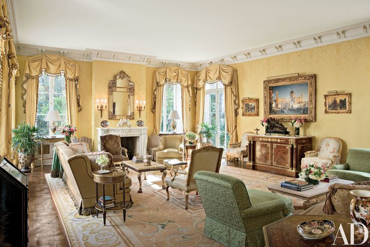 Look Inside A French Neoclassical Style Mansion In New Orleans Architectural Digest Mansion
