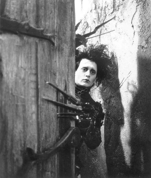 Johnny Depp - 'Edward Scissorhands', 1990.