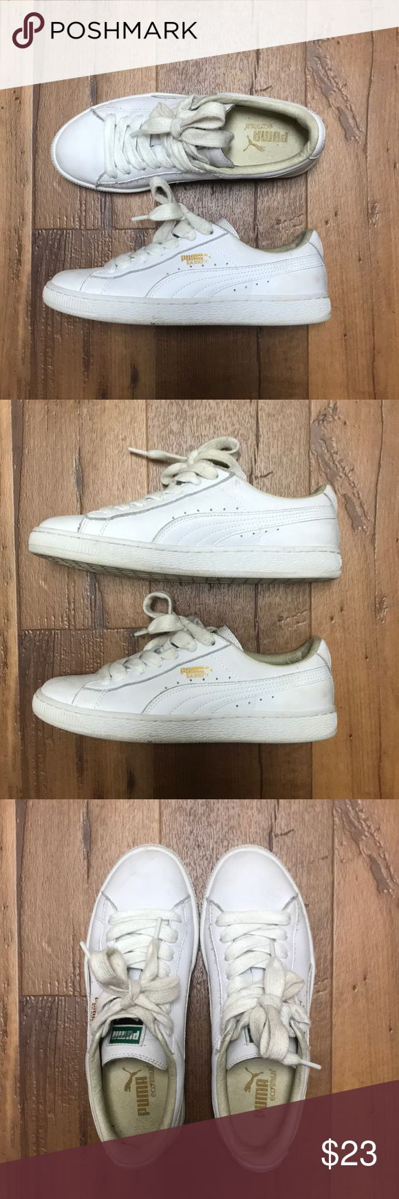 Puma Basket Sneakers Worn a couple times, still in great condition! #puma #sneakers Puma Shoes Sneakers