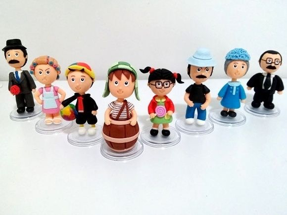 Turma do Chaves em Biscuit