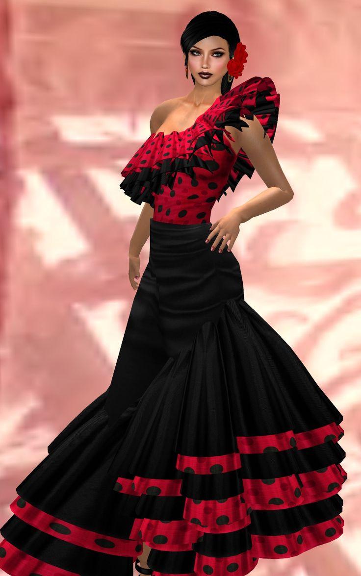 ))**FLAMENCO DRESS-MARIA « pleasant fashion