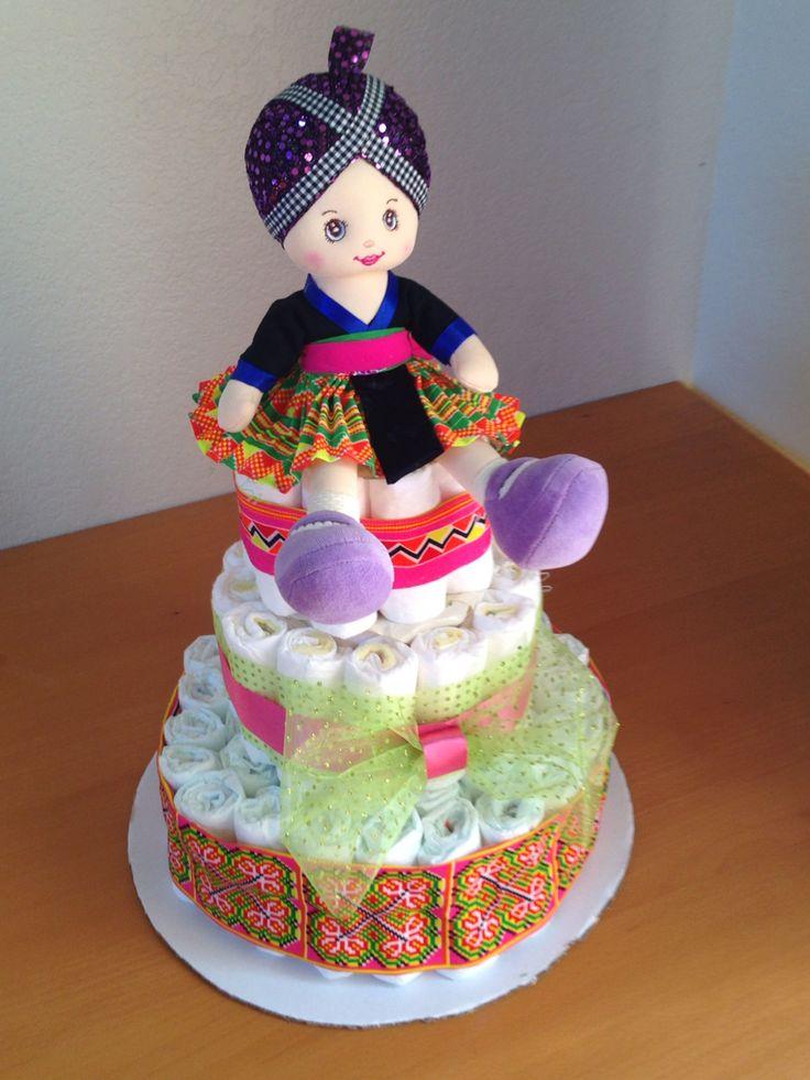 Hmong diaper cake.