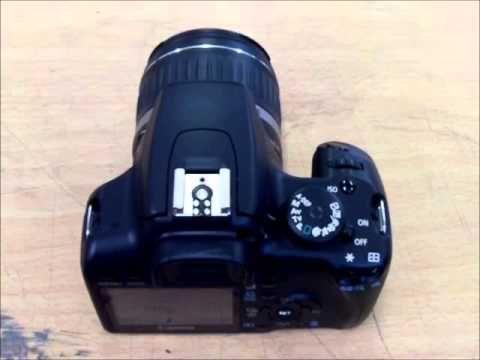 Canon 1000D Advanced tutorial