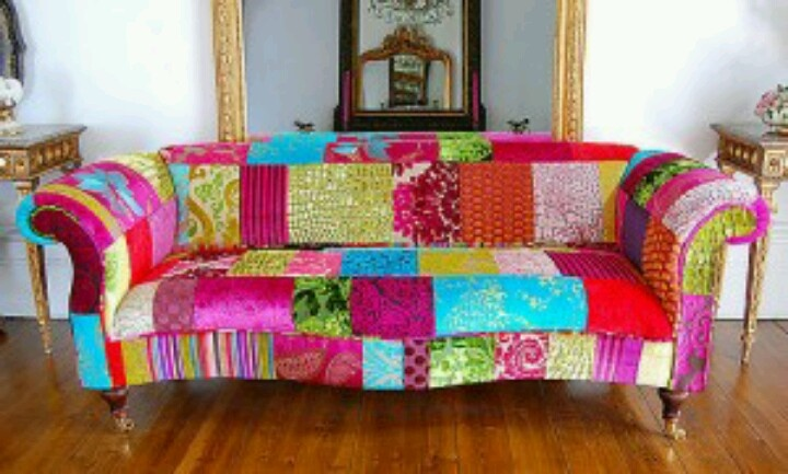 Patchwork sofa | villa wishes | Pinterest | Patchwork Sofa ...