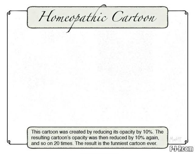 Funny Homeopathic Joke Cartoon Picture | Funny Joke Pictures