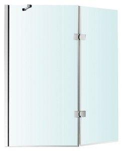 Pare baignoire KROMA 1 volet et demi H. 140cm, l. 120cm - MORETTI / Magasin de Bricolage Brico Dépôt de STRASBOURG - GEISPOLSHEIM