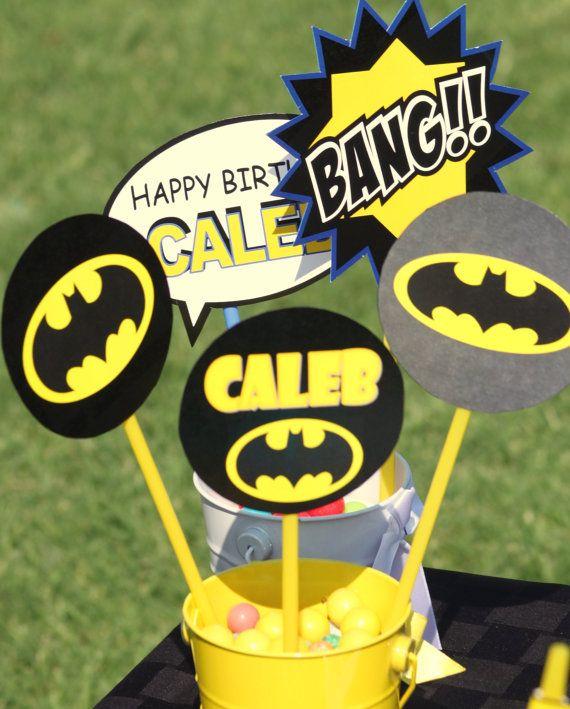 BATMAN COMPLETE   Superheroes  Boys Birthday by KROWNKREATIONS, $30.00