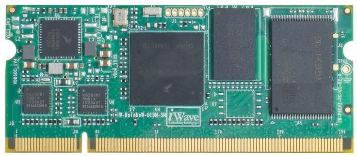 iWave's new SODIMM module encompasses NXP i.MX6ULL ARM Cortex A7 CPU core operating up to 528MHz speed with Linux OS.