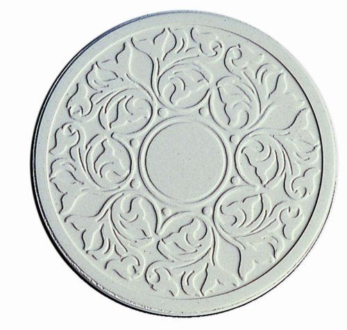 """Embossed Victorian Lace Absorbent Coasters by CoasterStone. $23.99. Make a great gift. Each set in a printed box. Absorbent 4.25"""" coasters. Absorbs sweating or spilled drinks without making a mess. These lovely coasters are made of an absorbent stone, which can absorb liquid from sweaty glasses, or even small spills! Coasters are corked on the bottom, measure 4.25"""" and are brand new, in box, ready for gift - giving. Artist: Anonymous"""