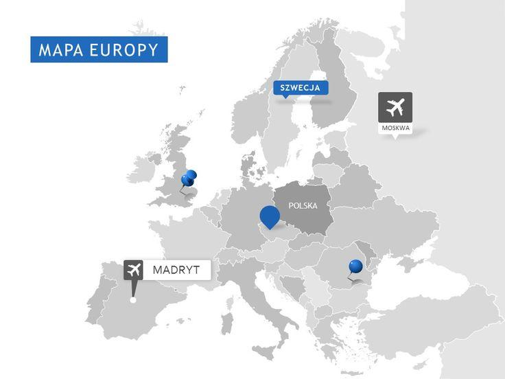 Mapa Europy  http://www.powerslajdy.pl/pl/p/Mapa-Europy/75