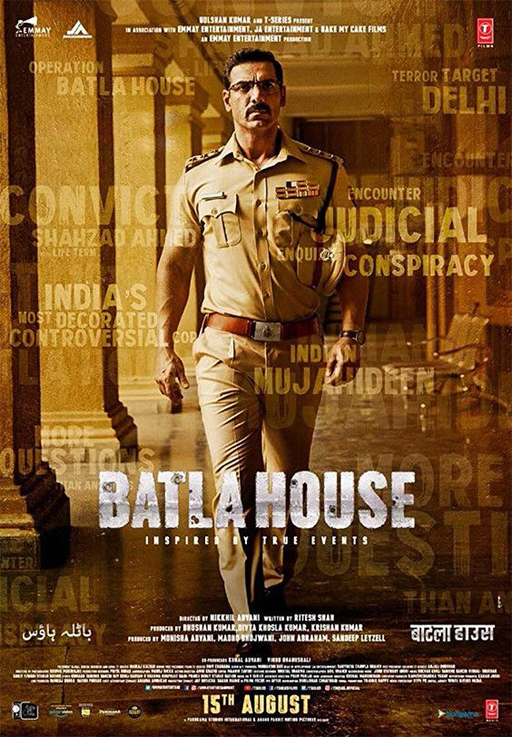 Batla House Star Cast Trailer Release Date Wiki Hindi Movies Full Movies Download Free Movies
