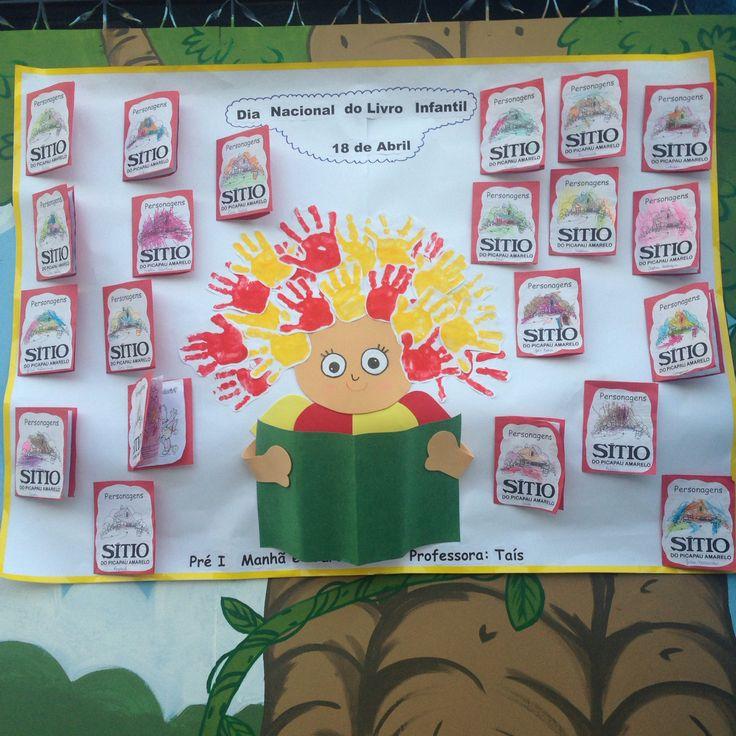 Painel Dia Nacional do livro infantil